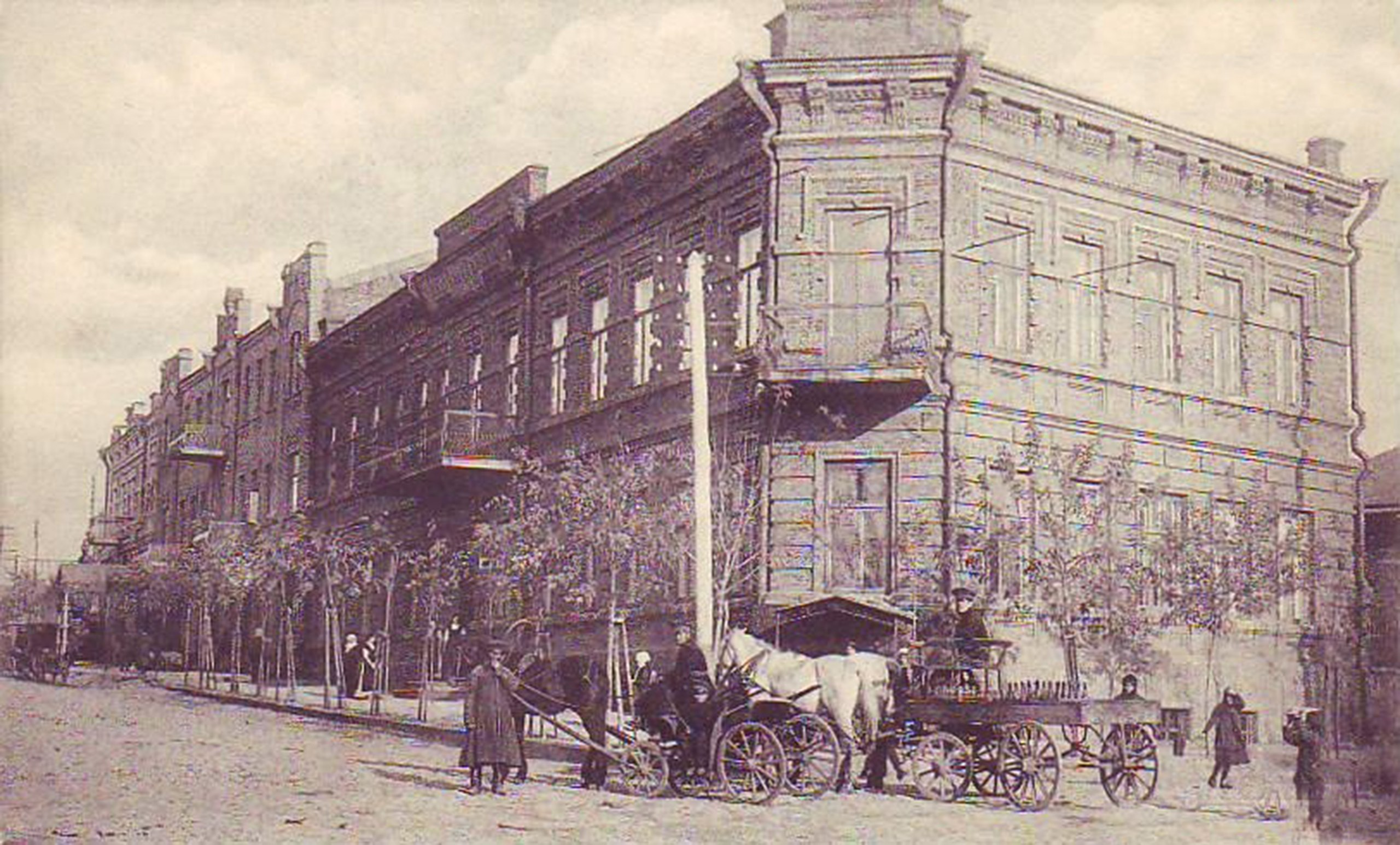 Вторая женская гимназия Павленко