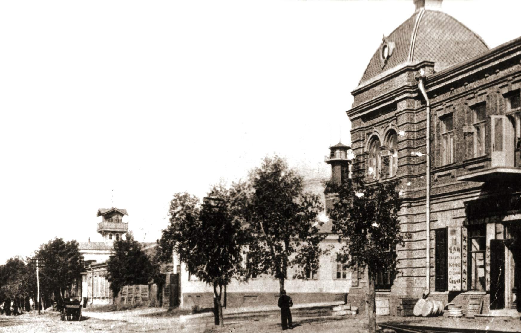 Дом Куржупов на Александровской улице