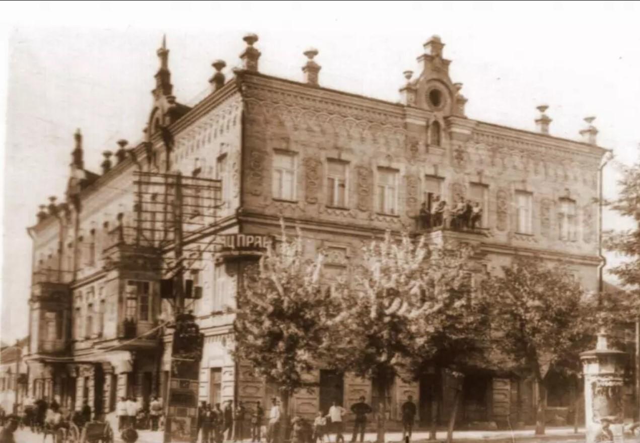 Дом Якова Лещинского