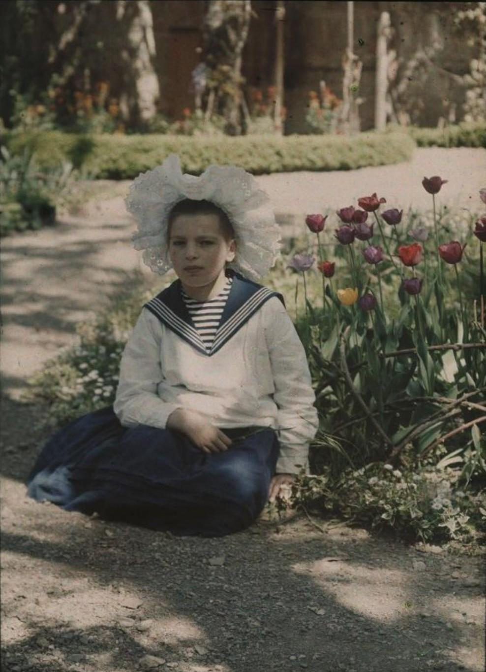 1910. Вера Козакова. Ялта