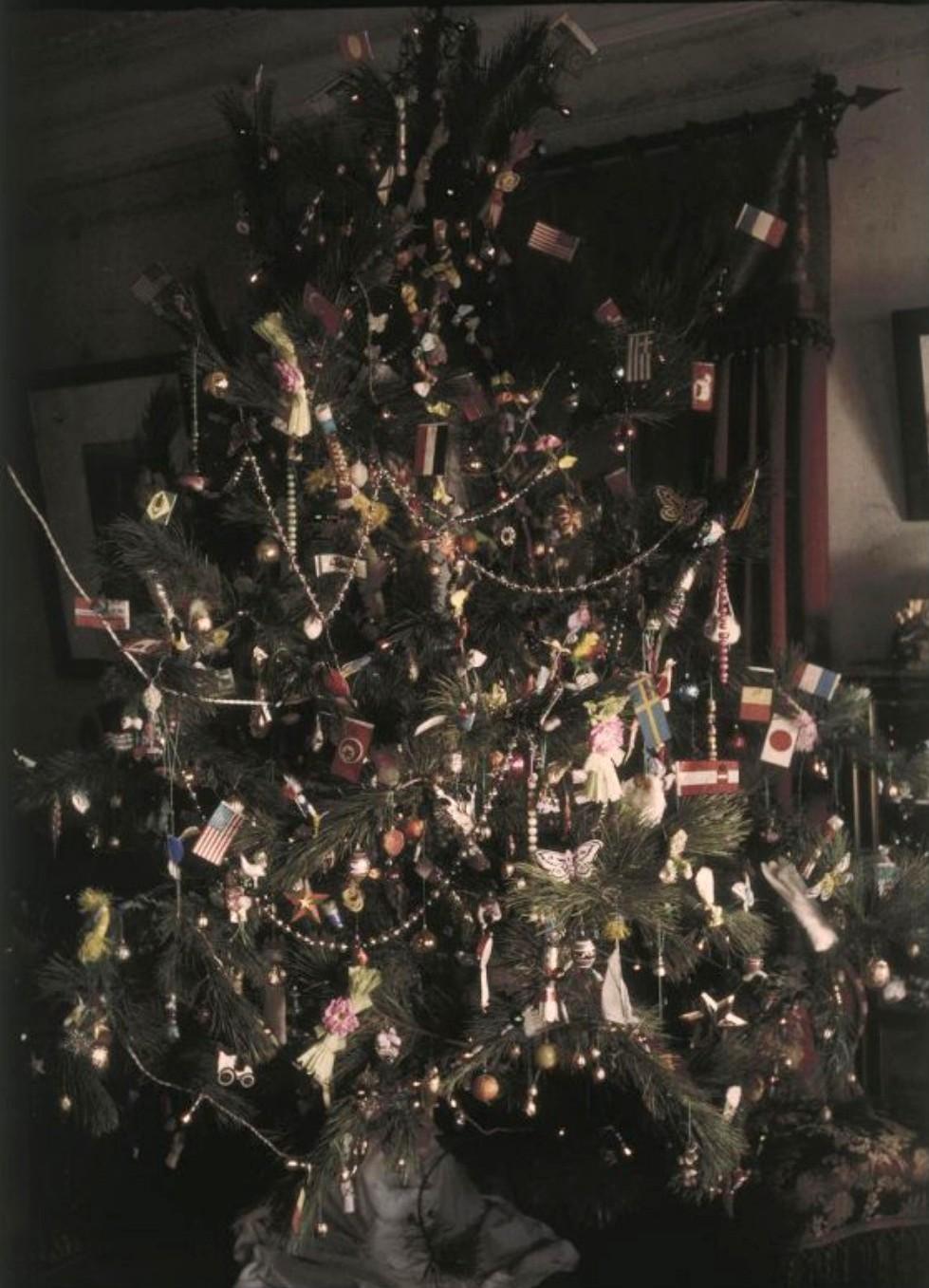 1911. Рождественская елка в Никольском