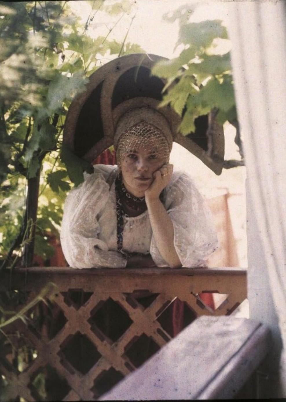 1914. Софья Андреевна Козакова. Ялта