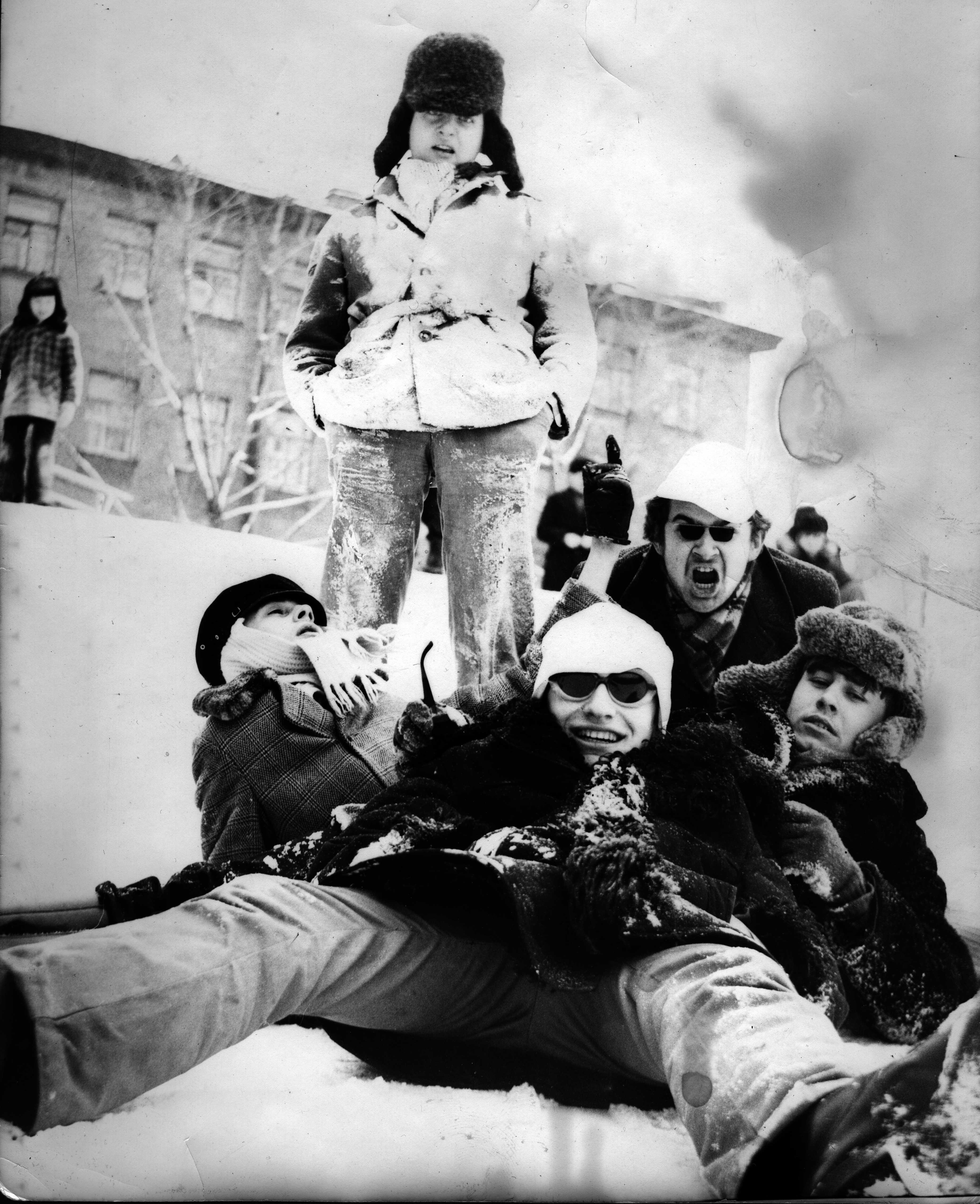 Свин и тусовка (Юфит, Цой и др.), конец 70-х, начало 80-х