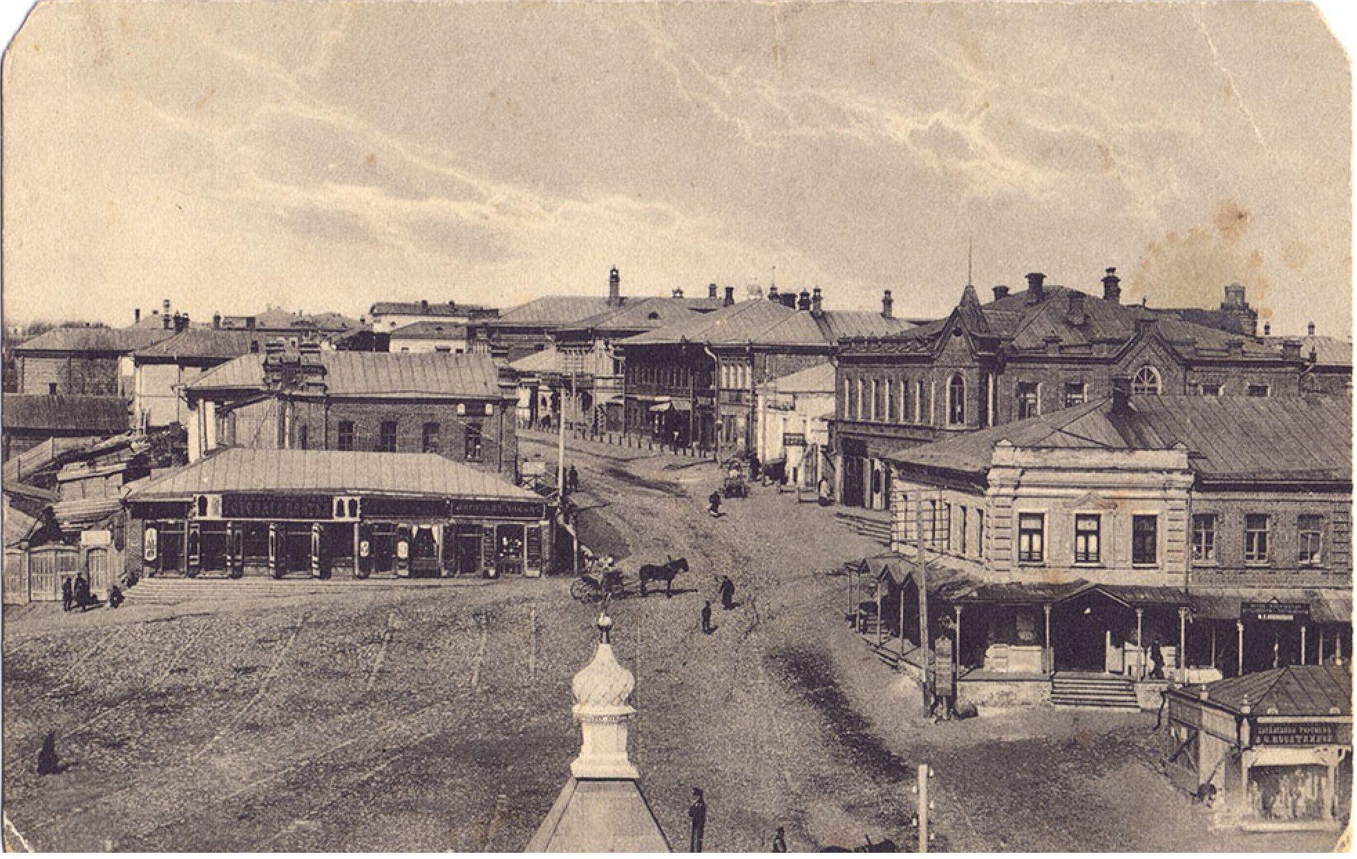 Верхняя базарная площадь