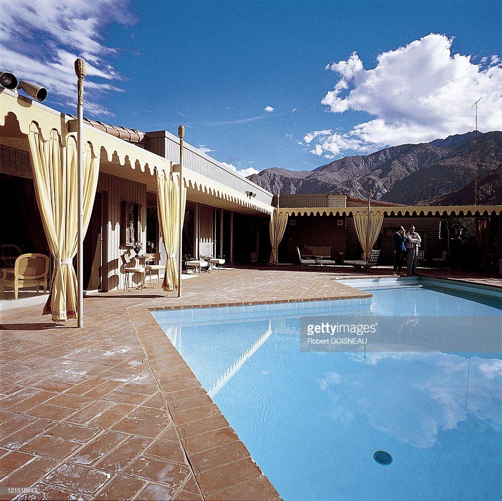 1960. Палм-спрингс. Дом и бассейн