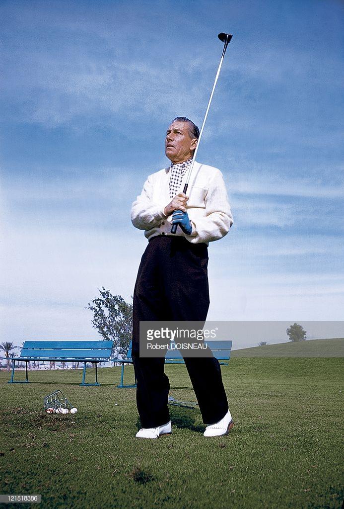 1960. Палм-спрингс. Игрок в гольф
