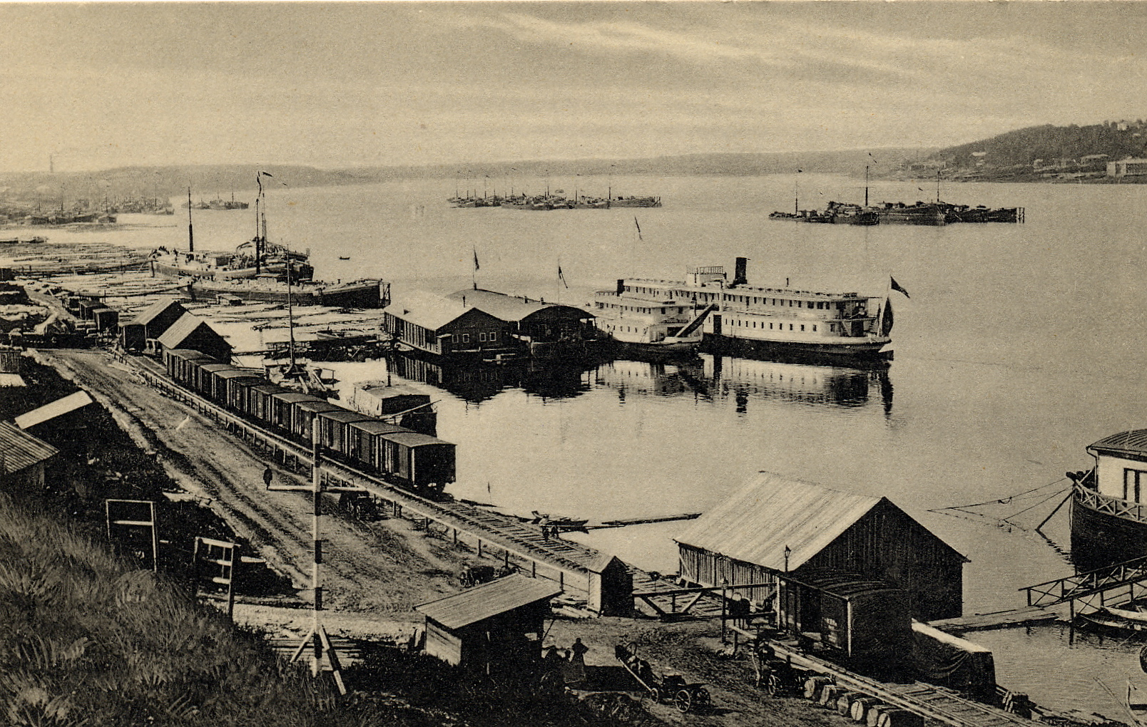 Промышленный берег Волги