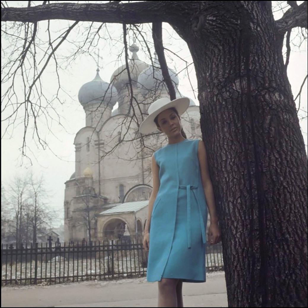 Модель у Смоленского собора