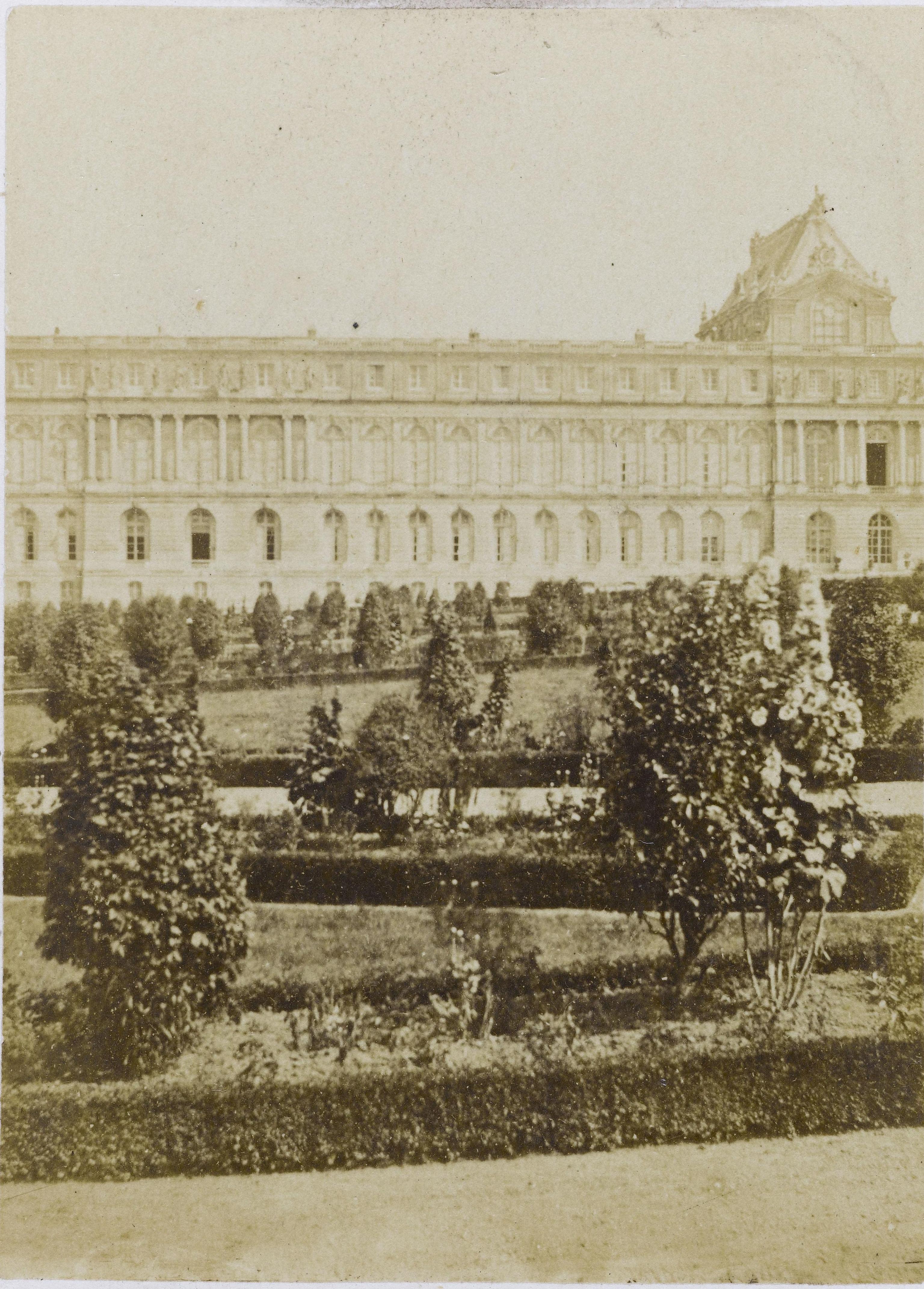 19. Версальский дворец, фасад Оранжереи