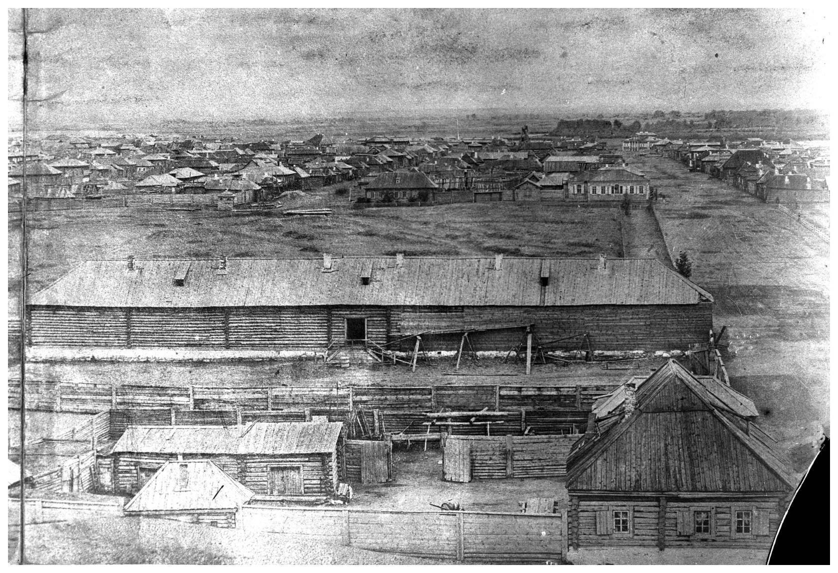 Вид с Знаменского собора. 1867