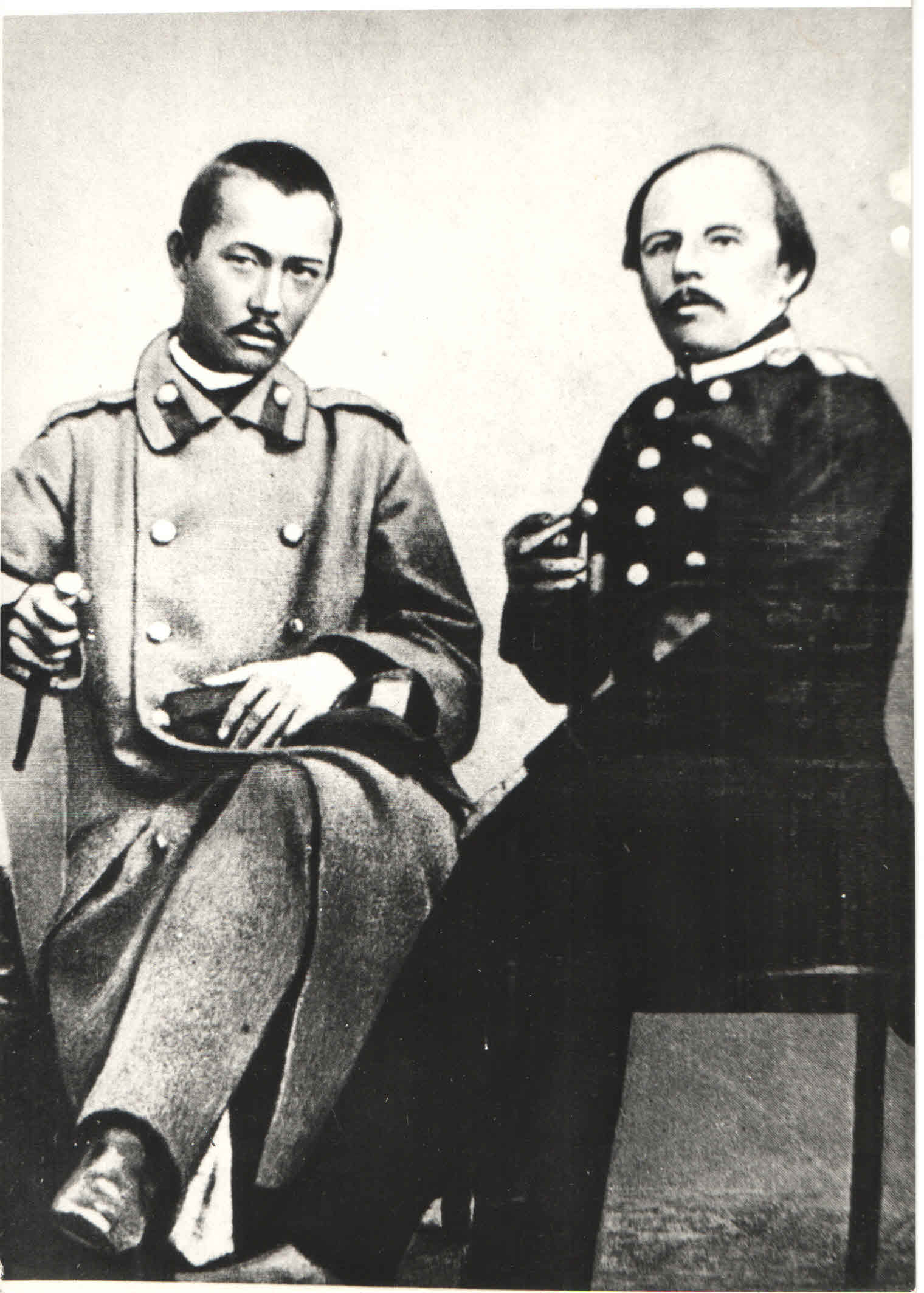 Ф.М.Достоевский и Ч.Ч.Валиханов