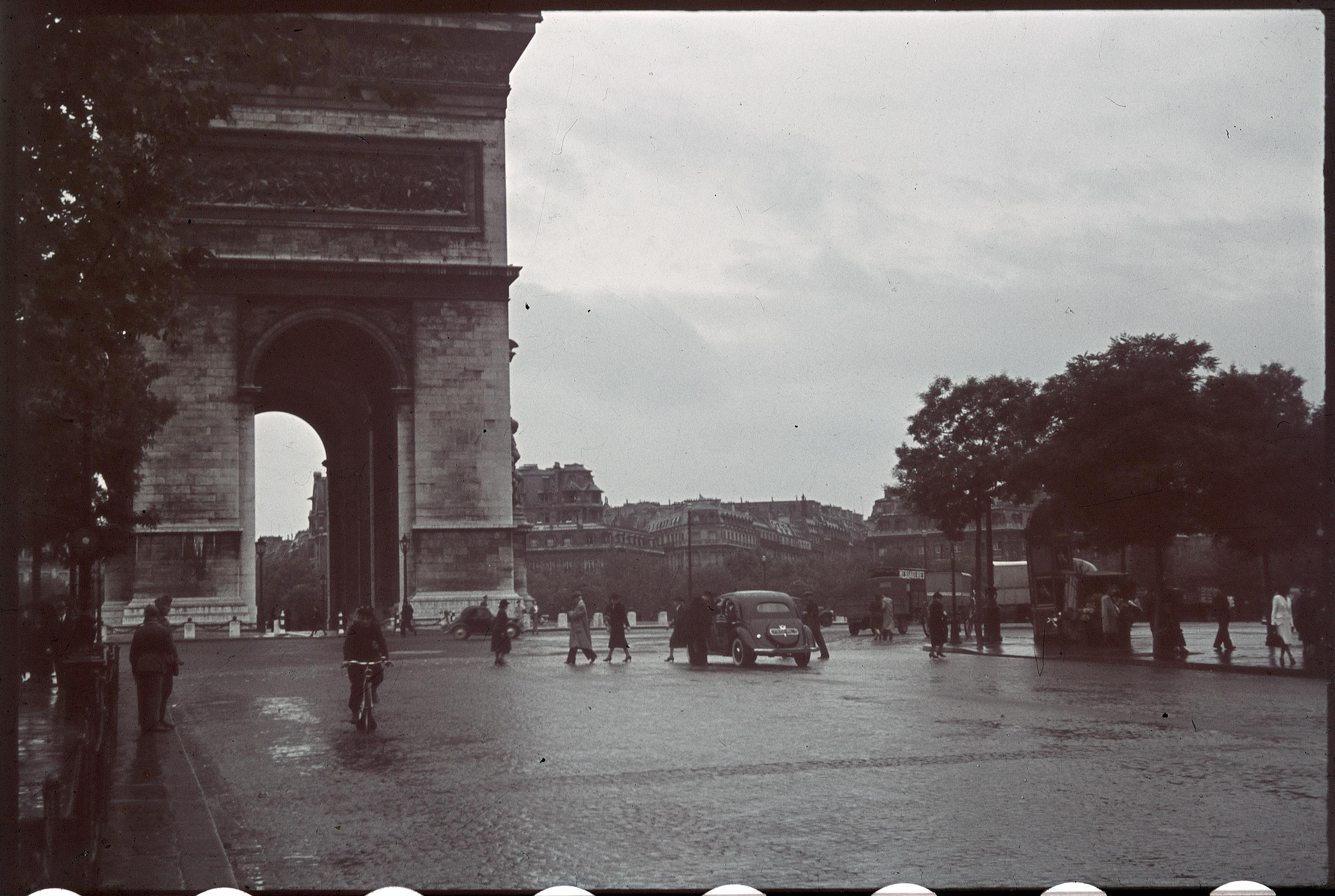 Площадь Звезды в дождливый день