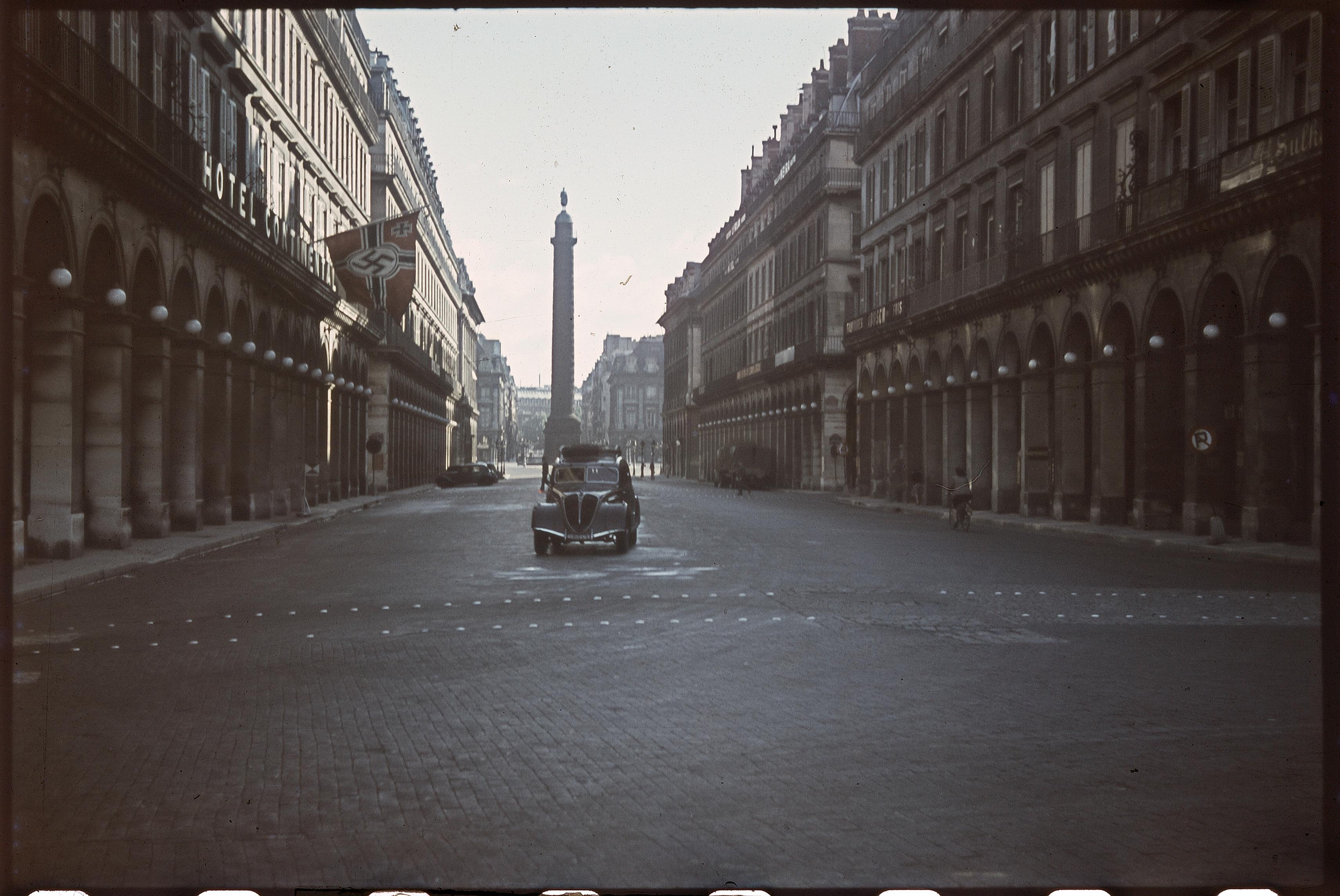 Рю де Кастильоне и Вандомская площадь