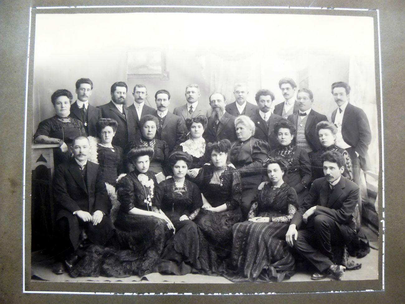 Еврейская община. 1911
