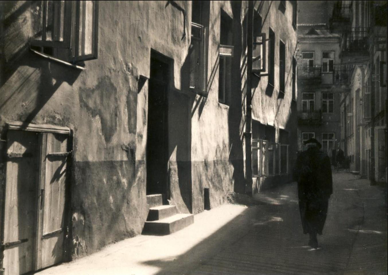 1935. Улица в еврейском квартале