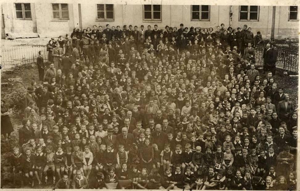 1938. Ученики еврейской школы