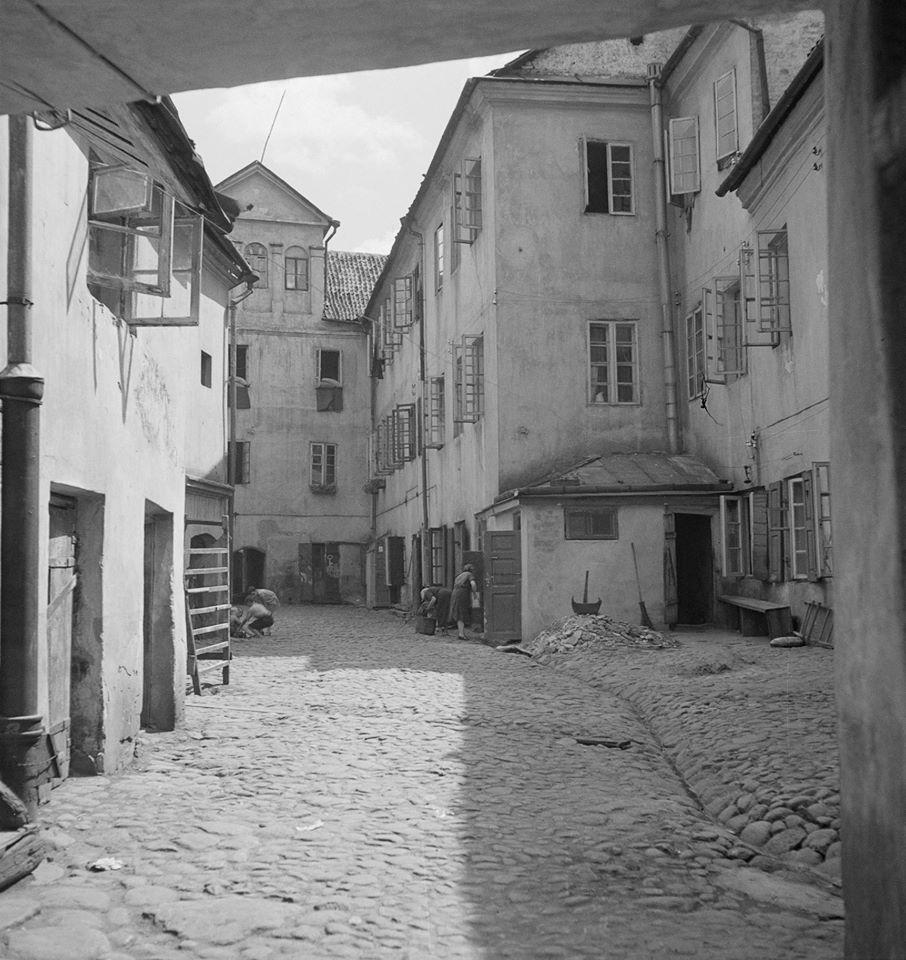 1938. Еврейский квартал
