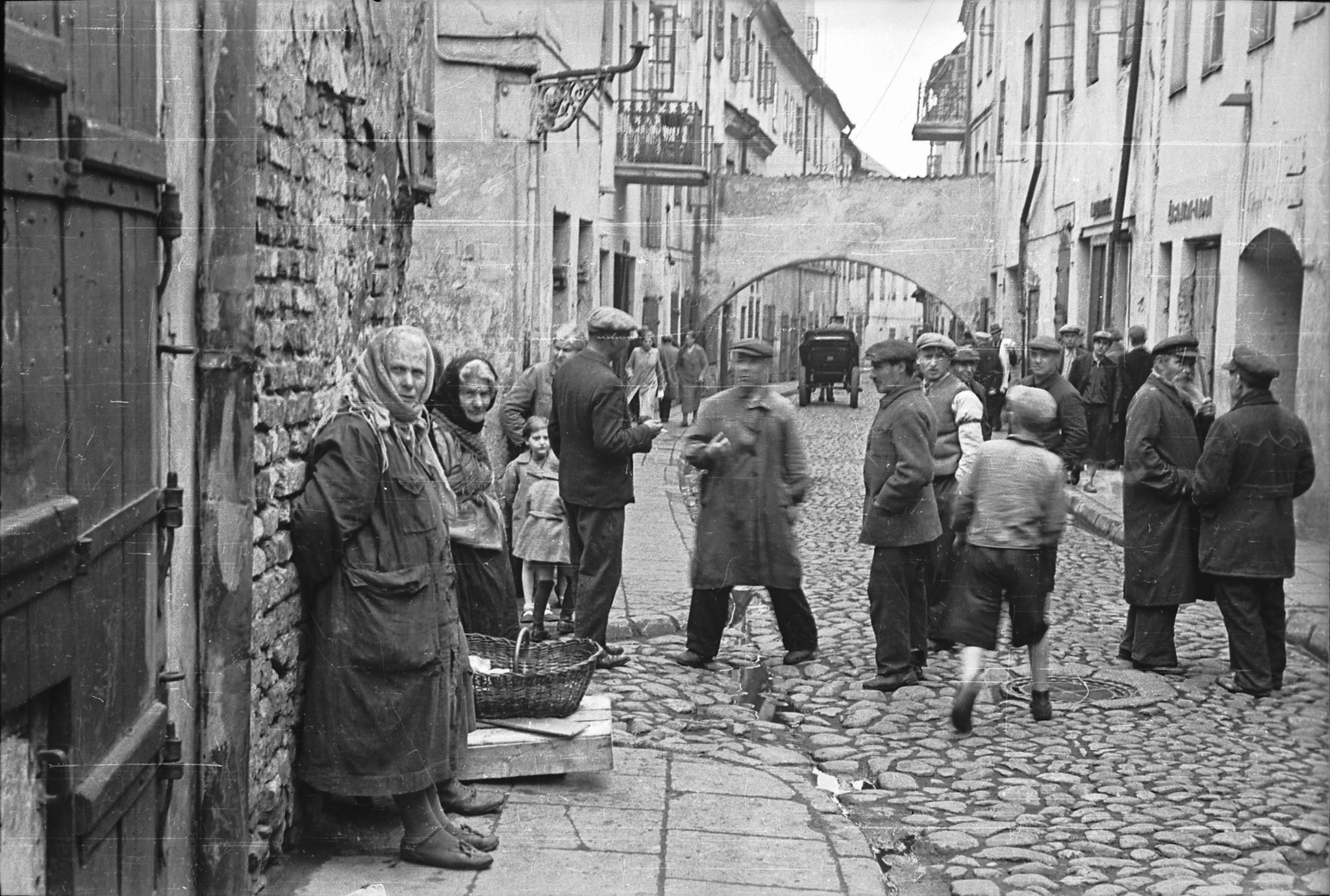 1940. Еврейский квартал. 9 июня