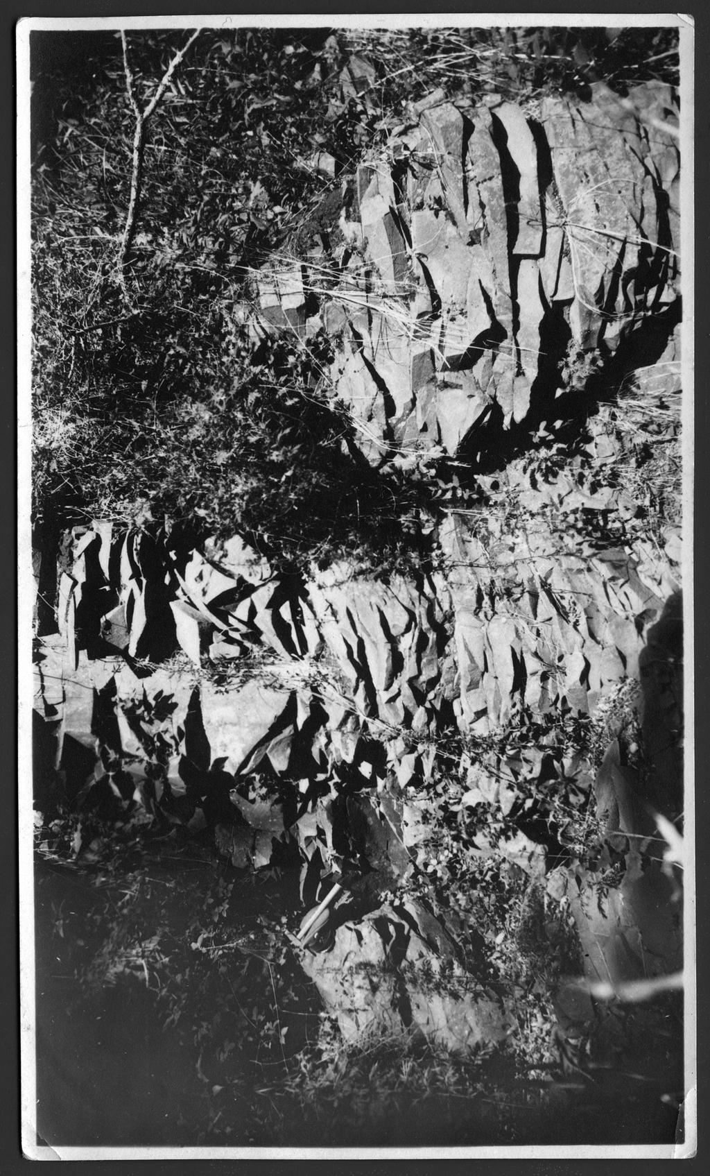 Обнажения горных пород на Сучане