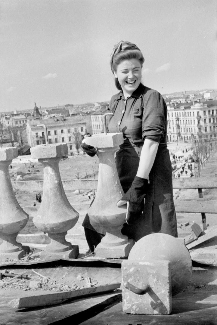 1950. Реконструкция Вильнюсского ЖД вокзала