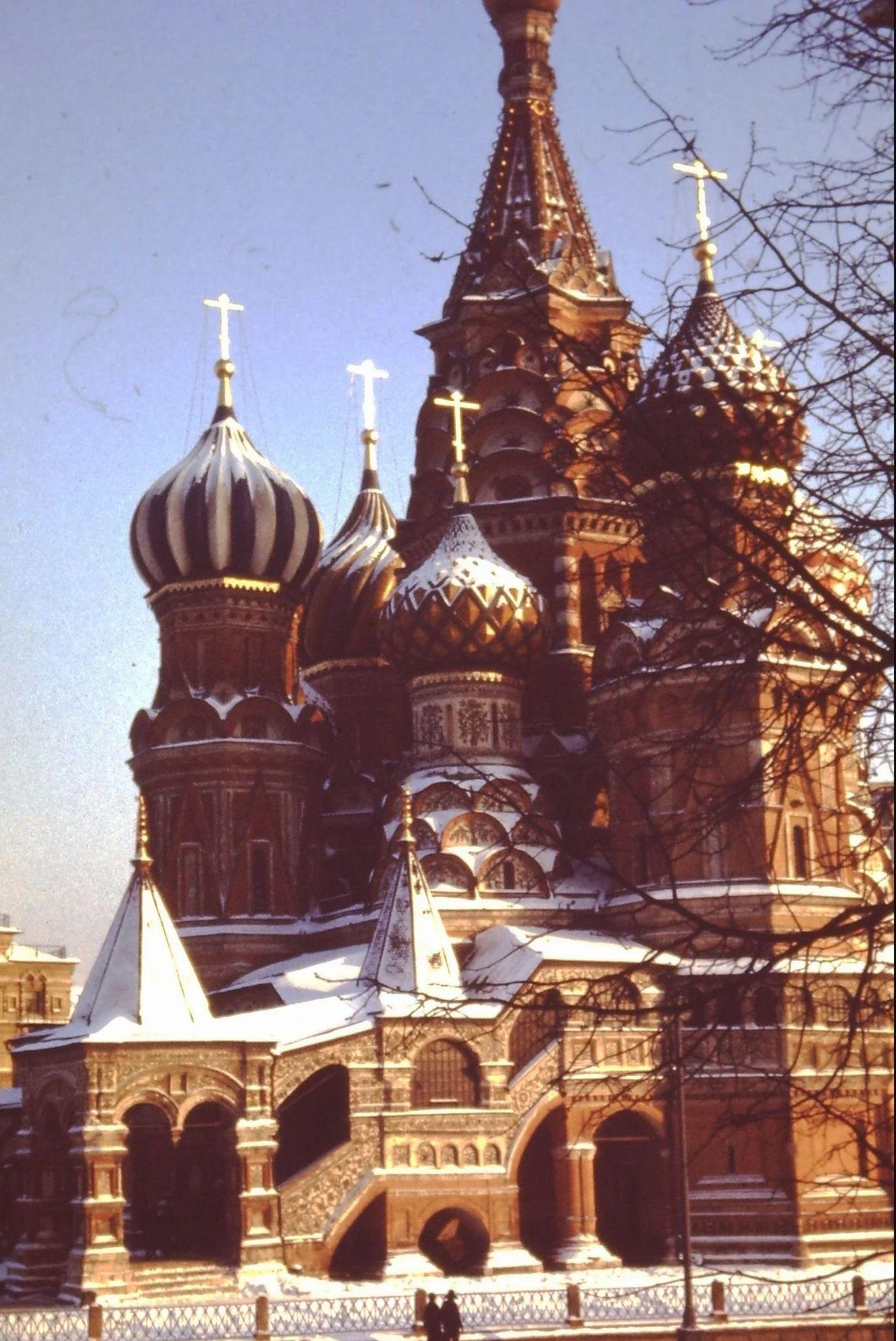 Собор Василия Блаженного, построенный по приказу Ивана Грозного