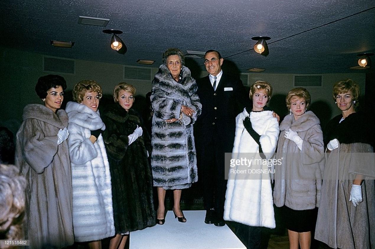 1960. Палм-Спрингс. Женские пальто
