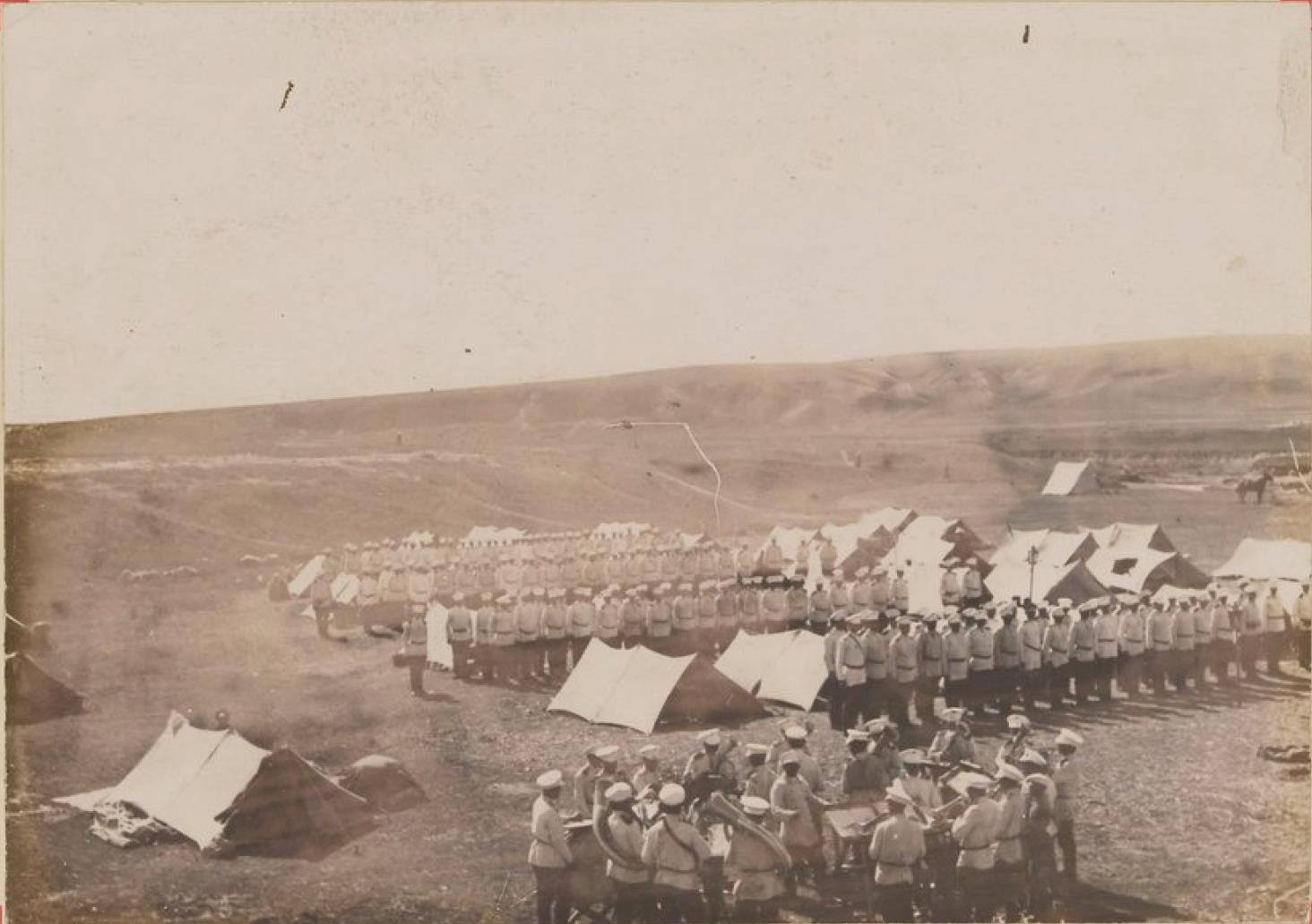 Казачий полк под Копалом