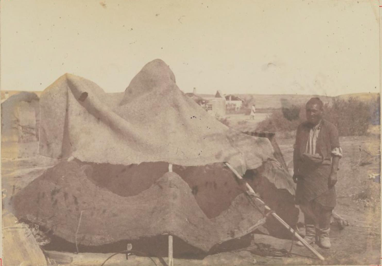 Походная палатка в Ильском (Семиречье)
