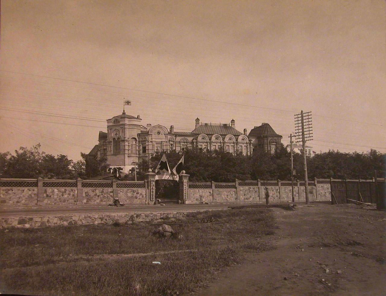 Вид на больницу Мариинской общины сестер милосерди