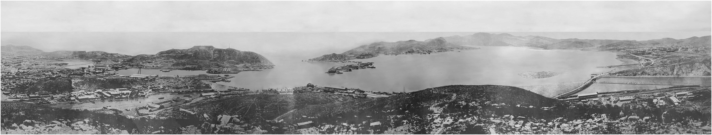 Панорама П-Артура 1905