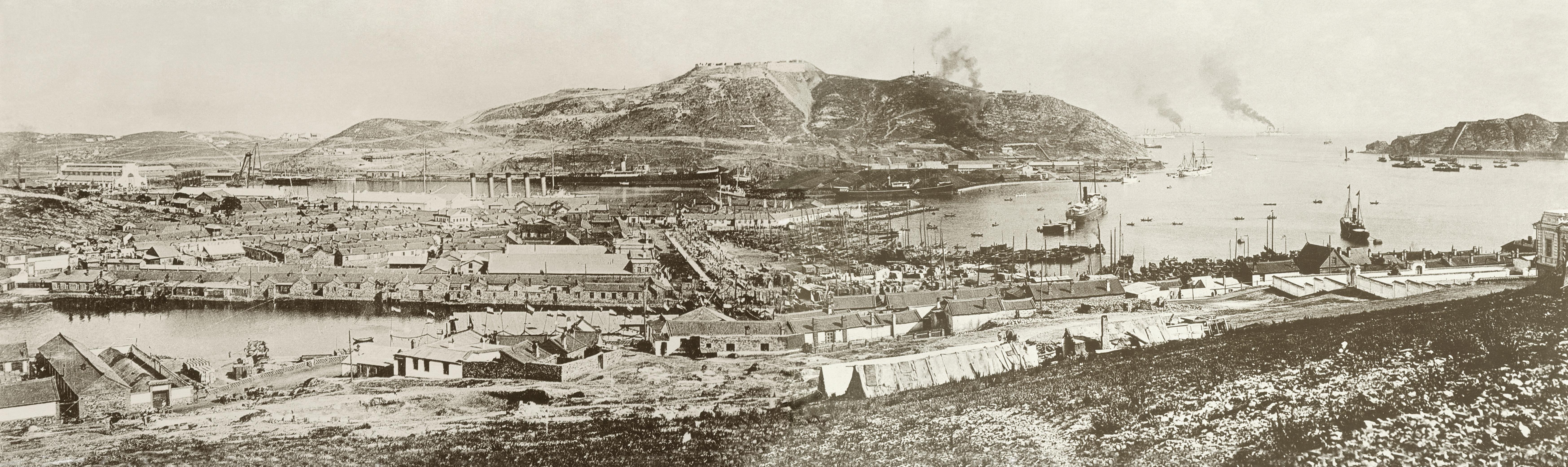 Панорама с горы Перепёлки. Лето 1904