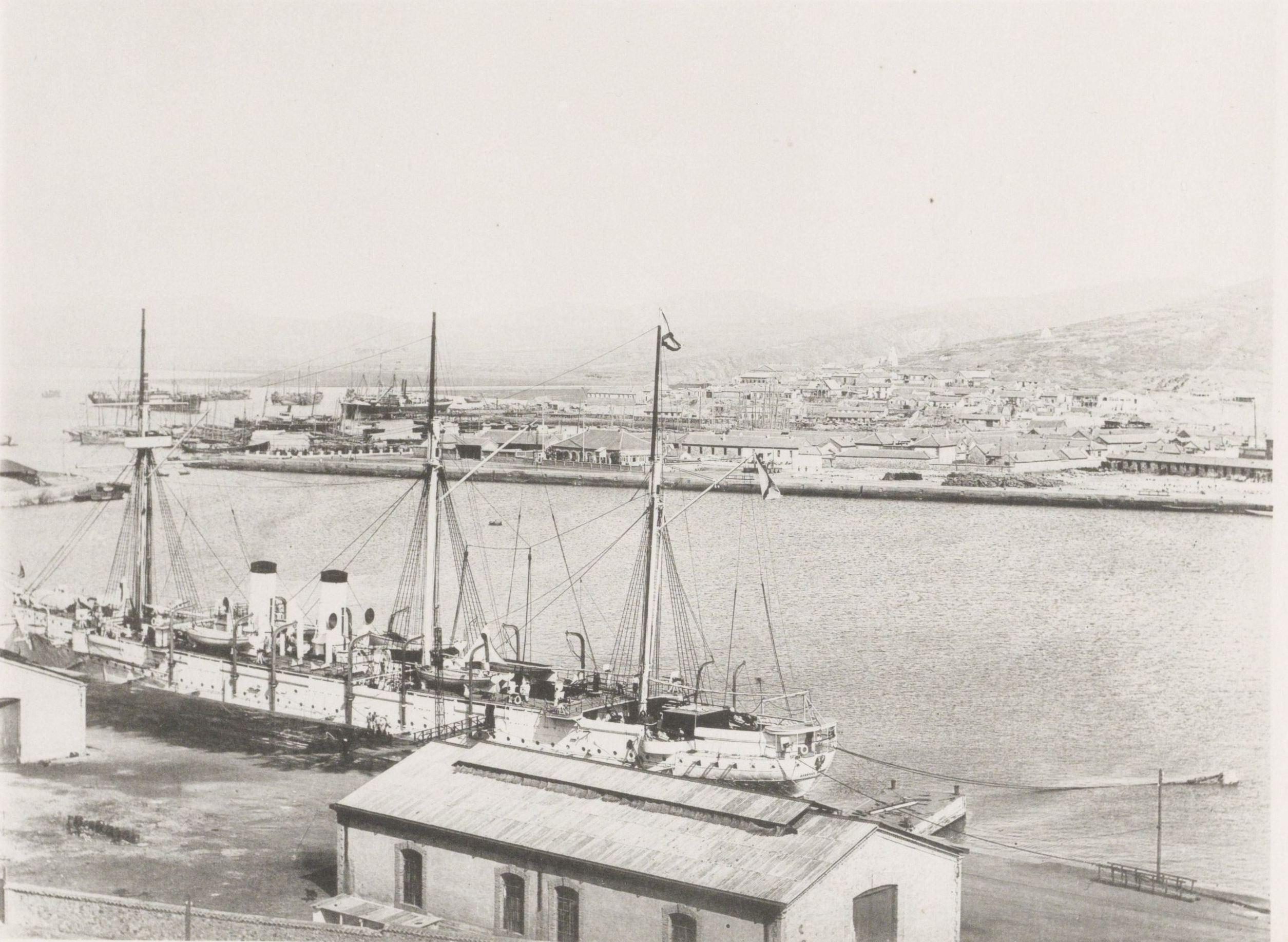 Вид на Порт-Артур
