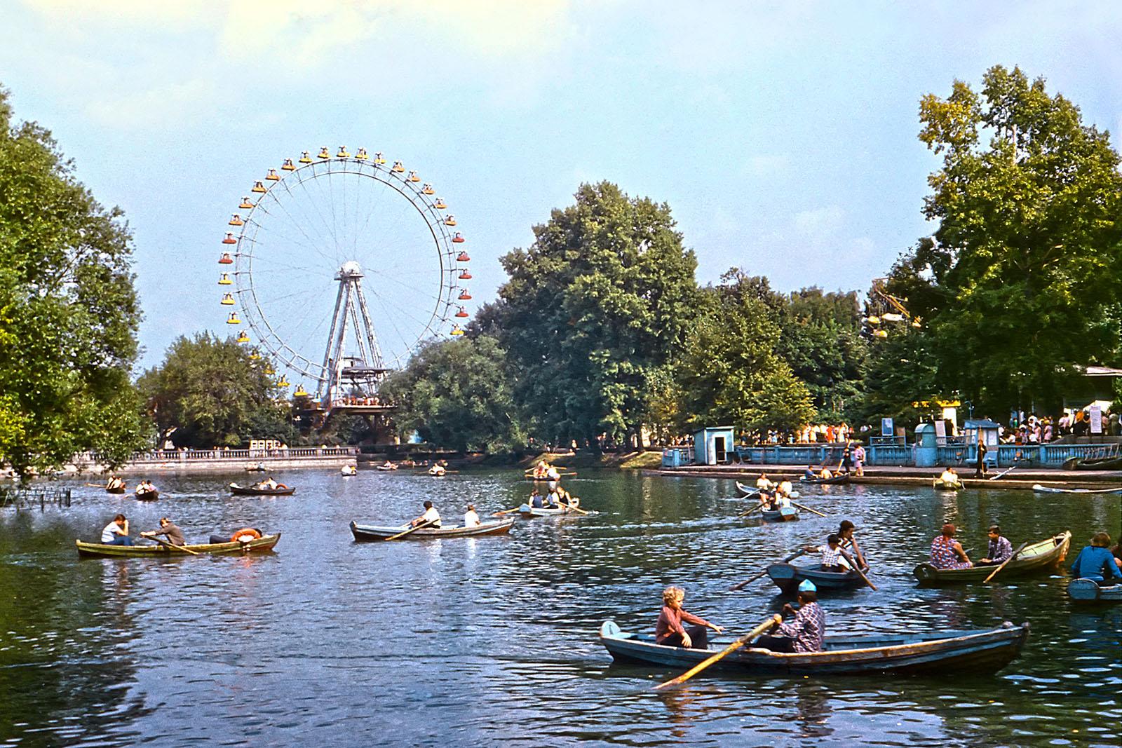 1975. Большой Голицынский пруд