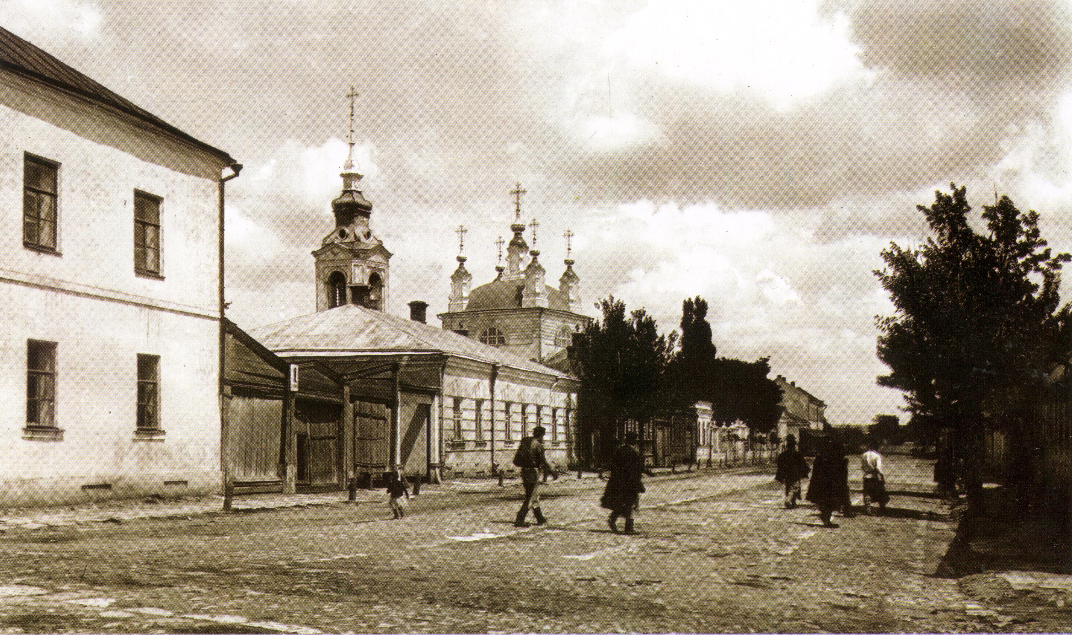 Никольский переулок и церковь Николы Рыбного