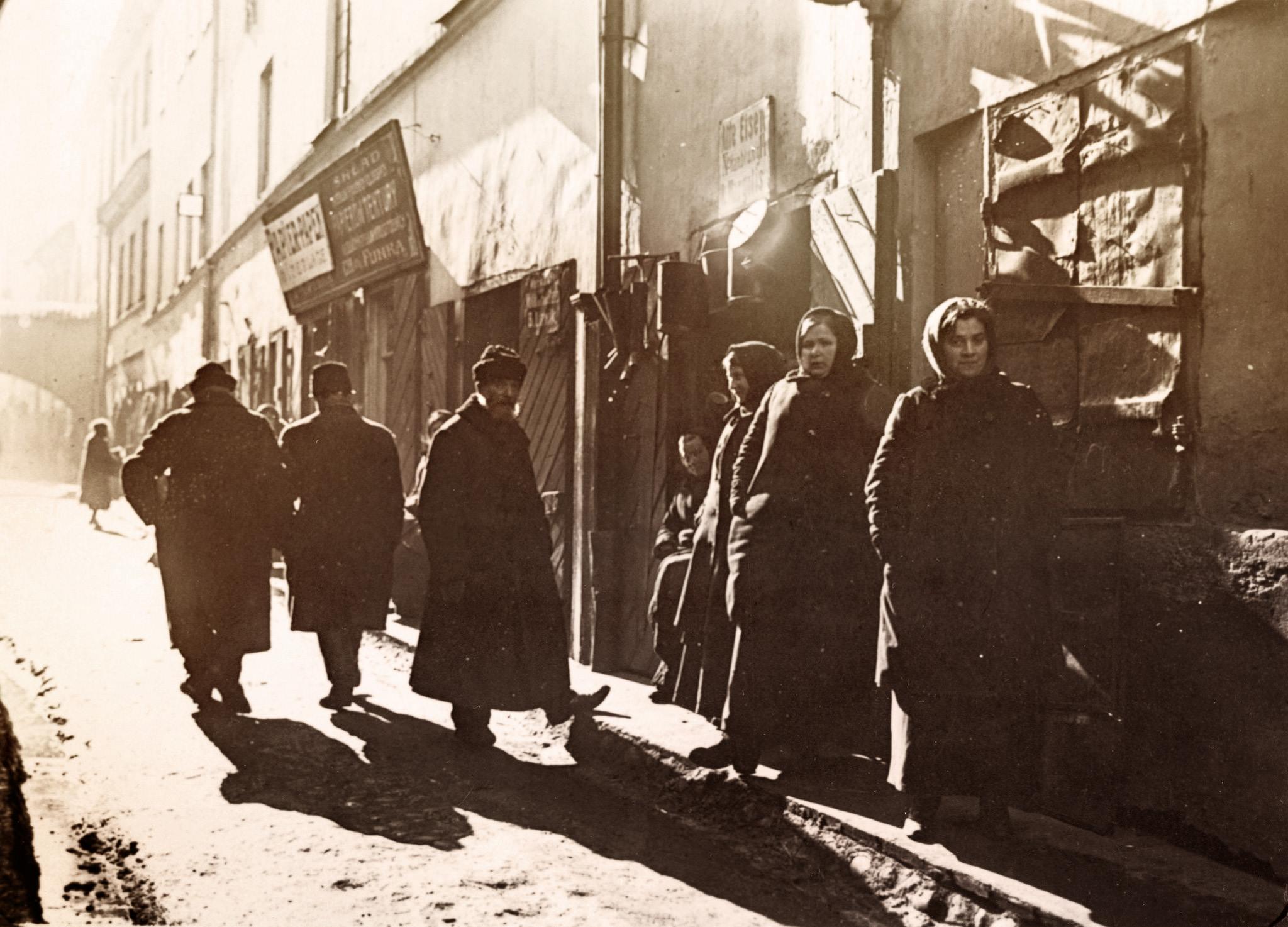 1916. Еврейский квартал