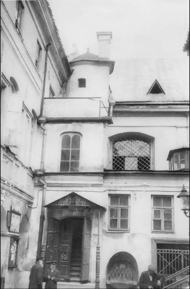 1925-1928. Двор Большой синагоги