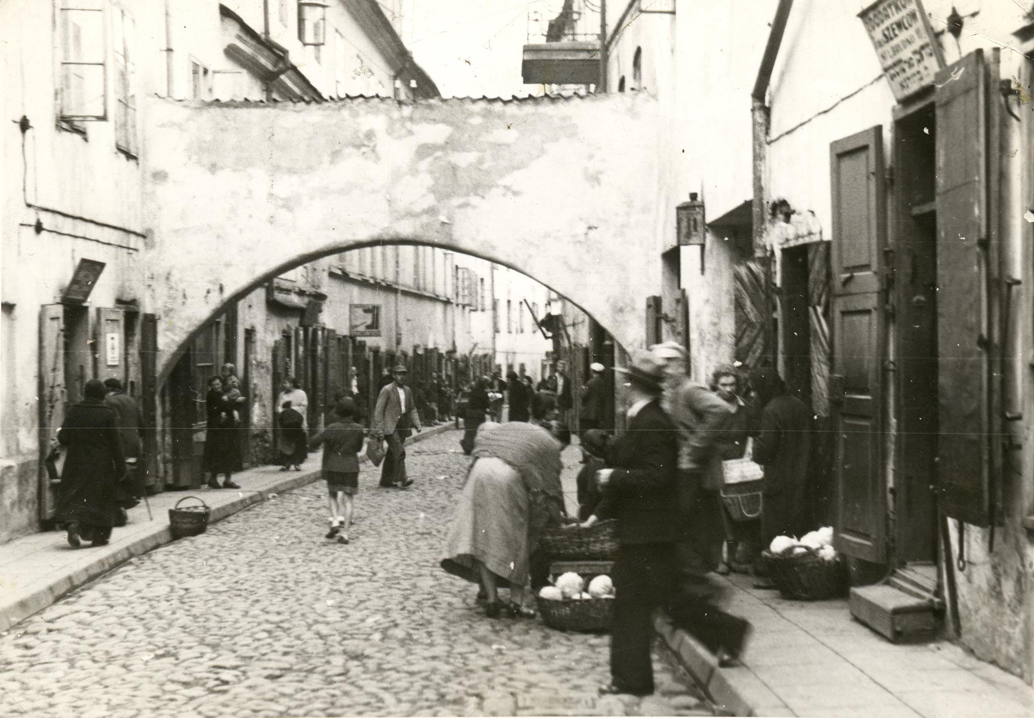 1930. Еврейский квартал