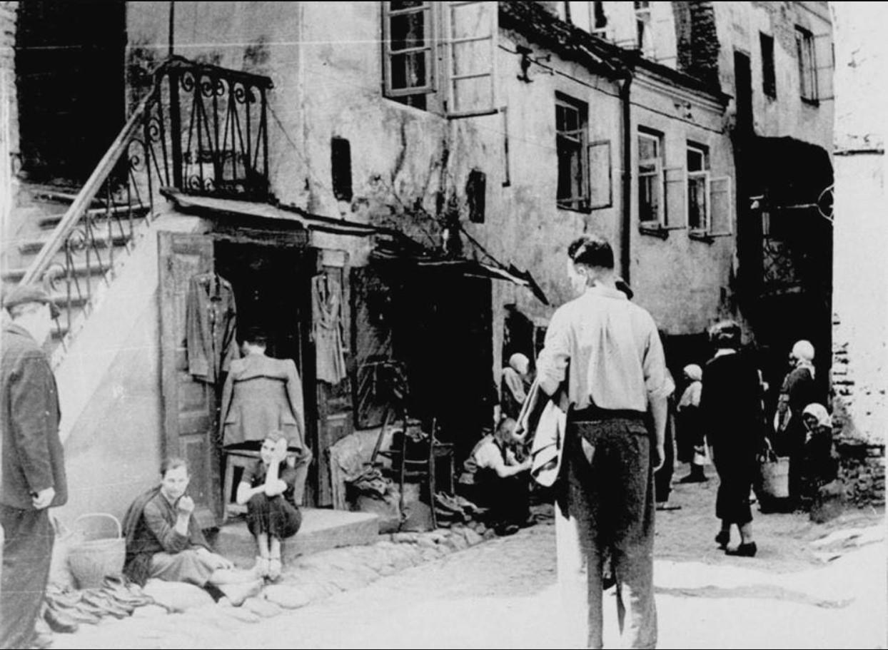 1930-1940. Еврейский квартал