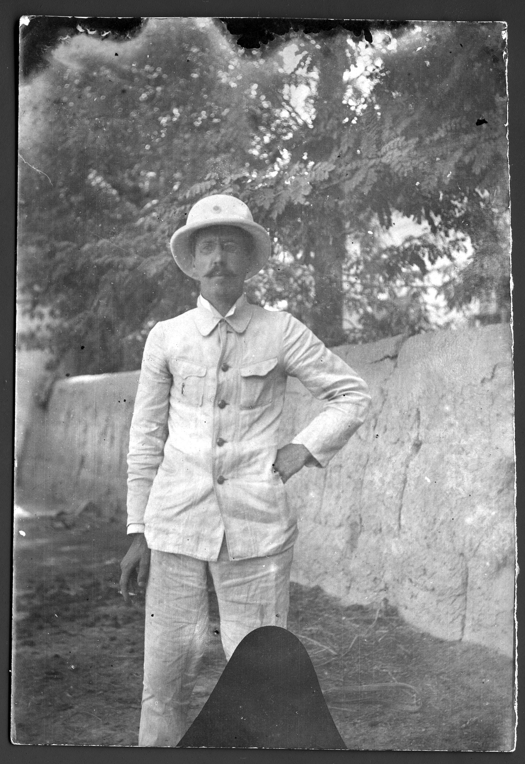 Павлов М. А. в экспедиции по Уралу