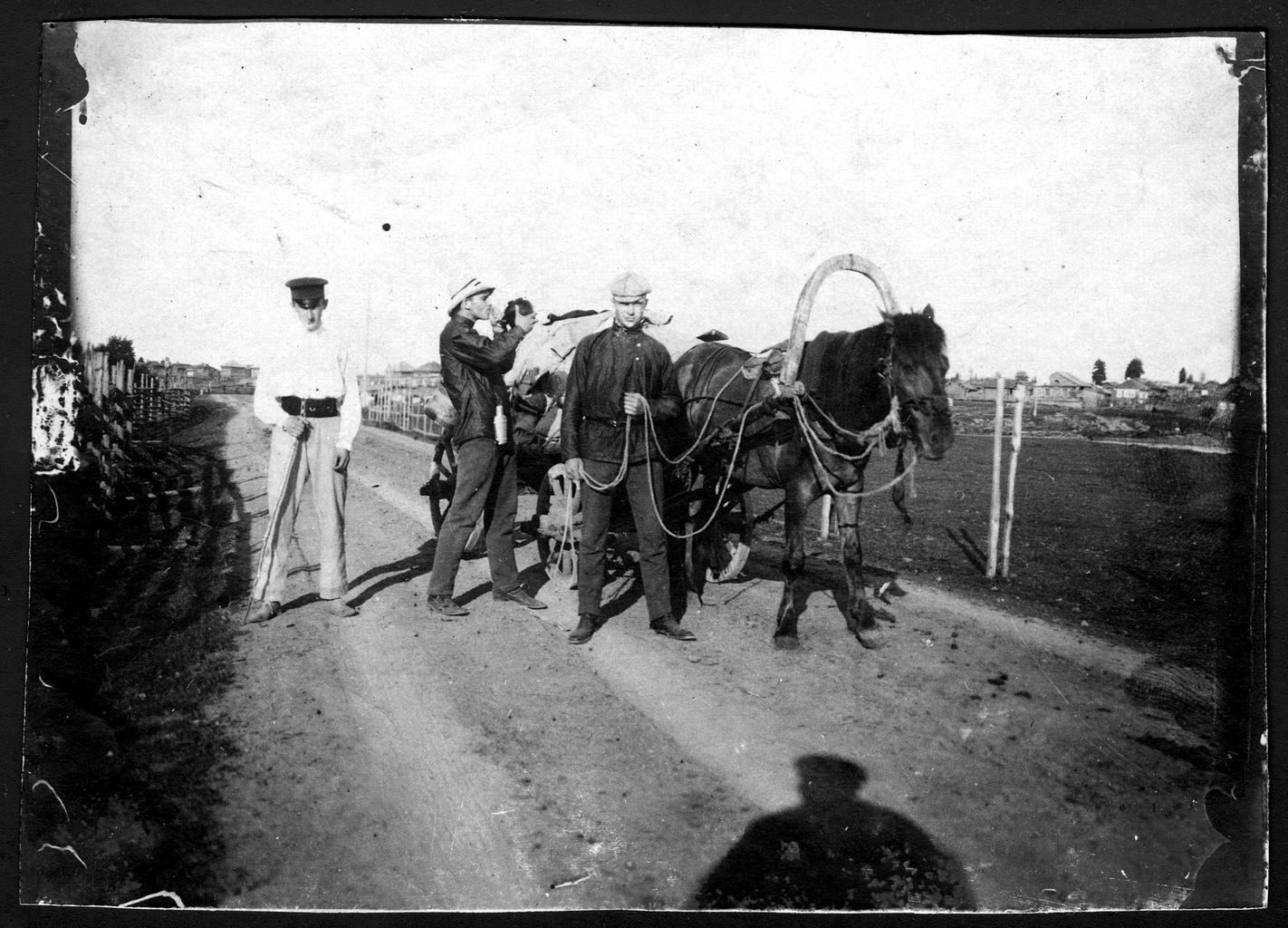 Участники экспедиции по Уралу в начале пути к горе Верхотурье