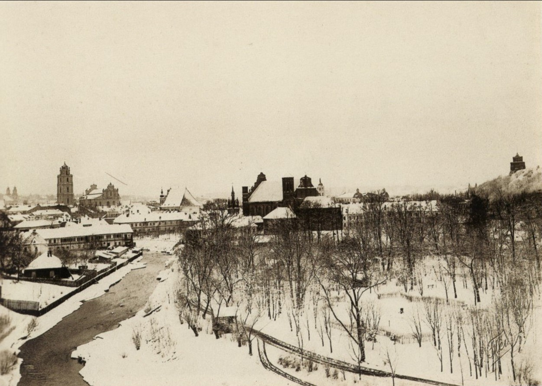 Бернардинский сад, 1890 - 1900