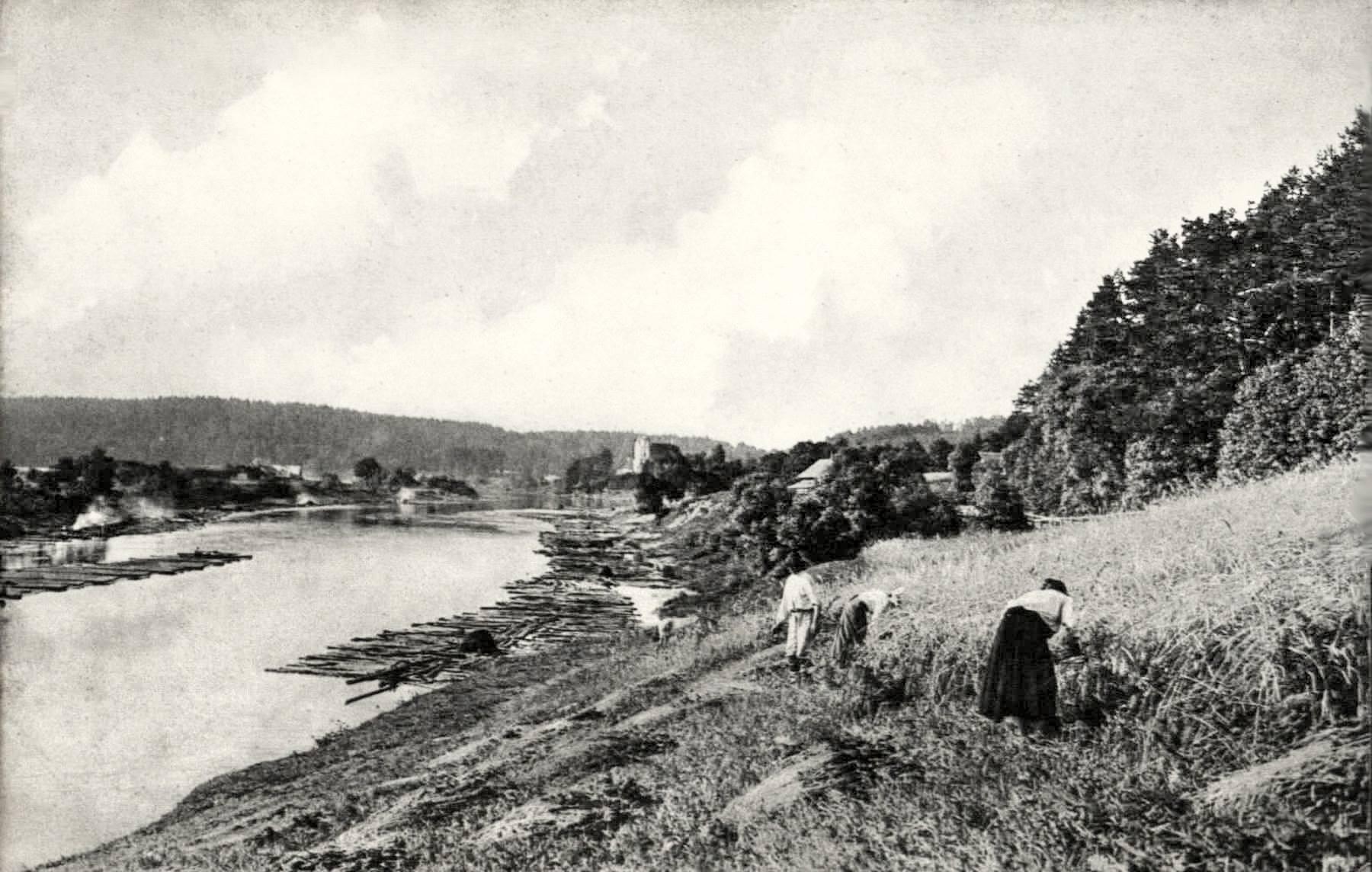 В окрестностях Вильно. 1890-е