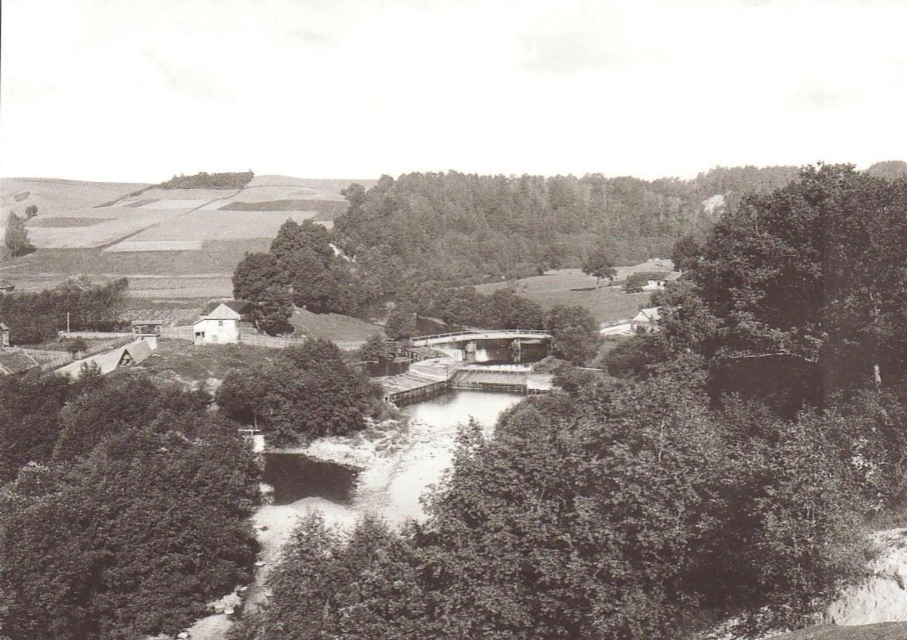 В окрестностях Вильно. Пушкарни. Плотина.1890-е