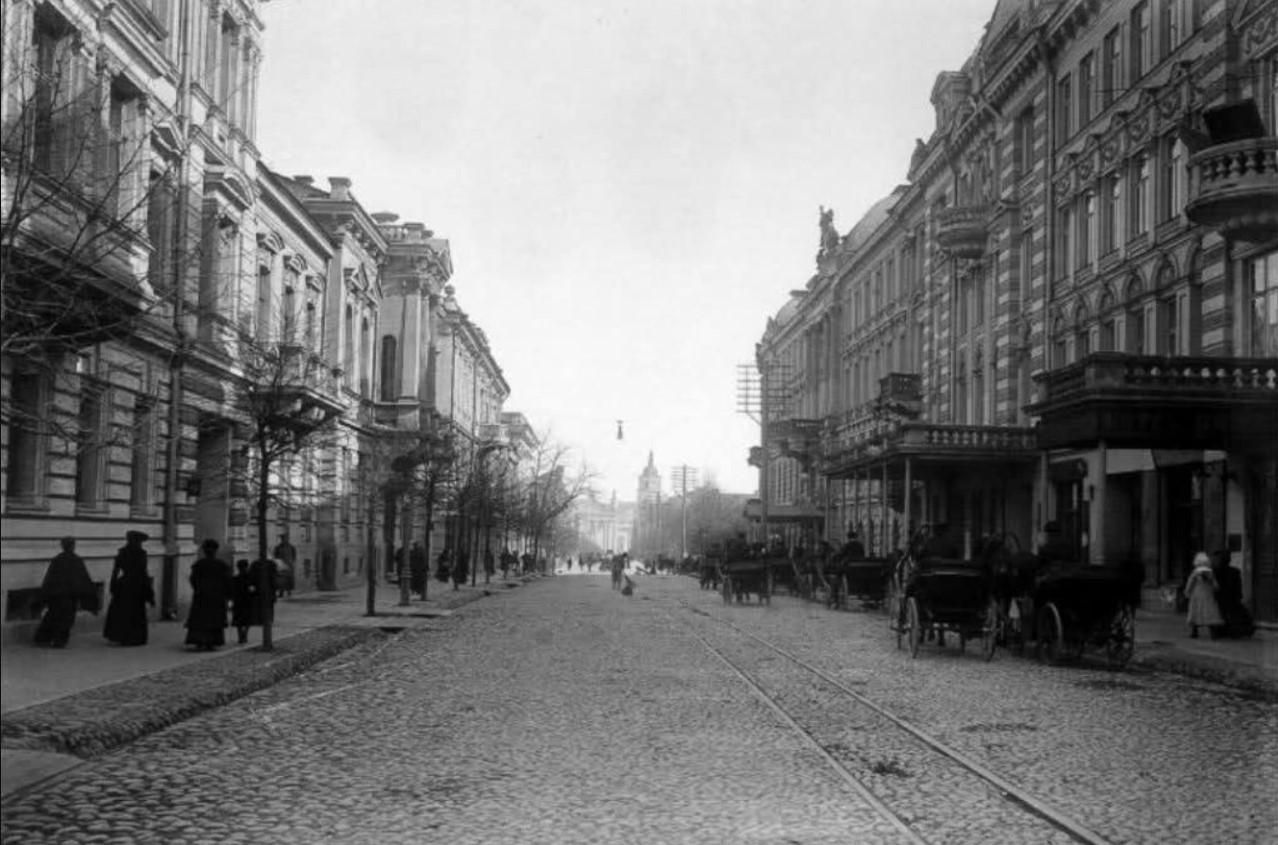 Георгиевский проспект. 1903