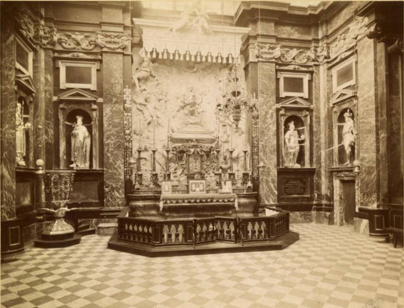 Собор. Часовня Св. Казимежа