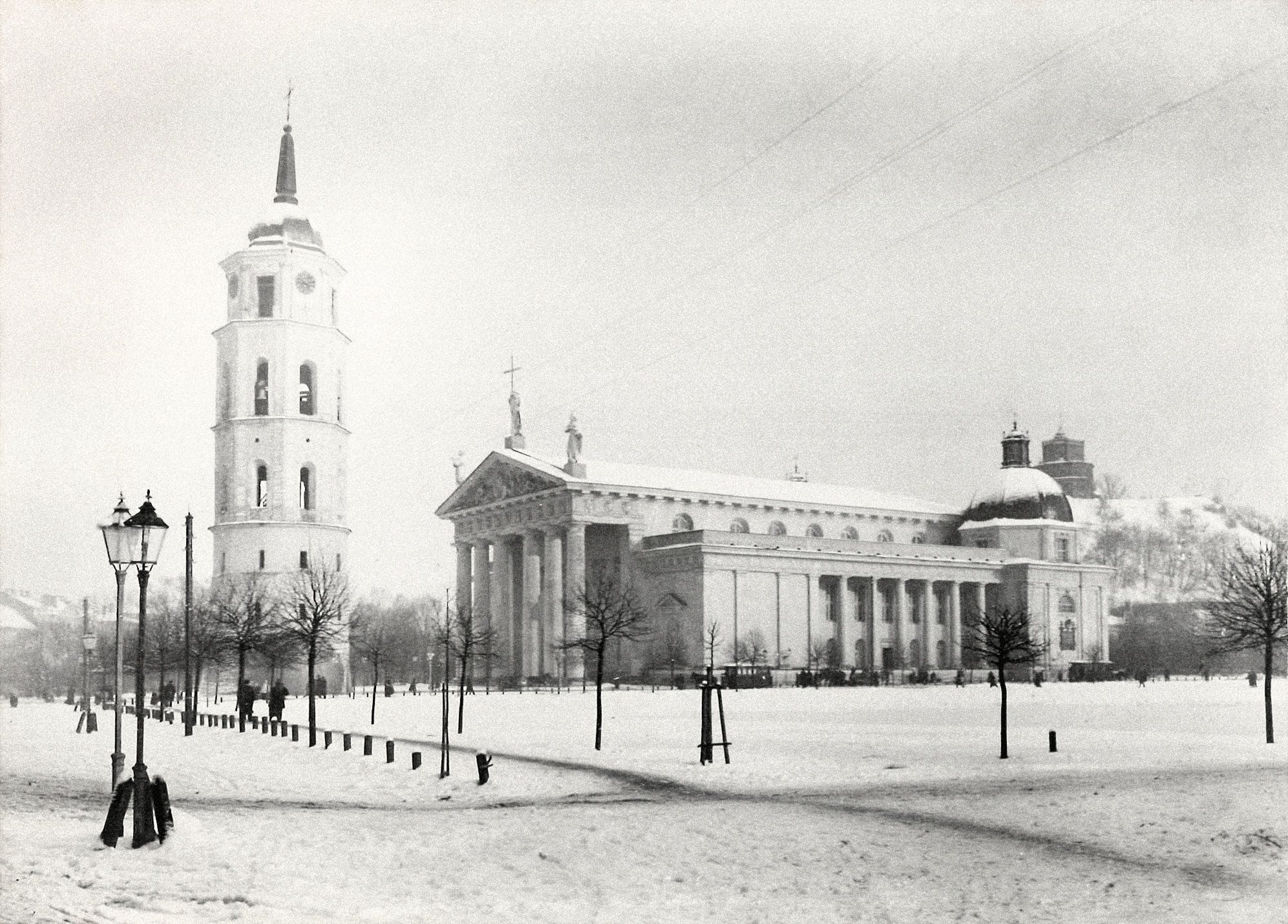 Соборная площадь. 1898