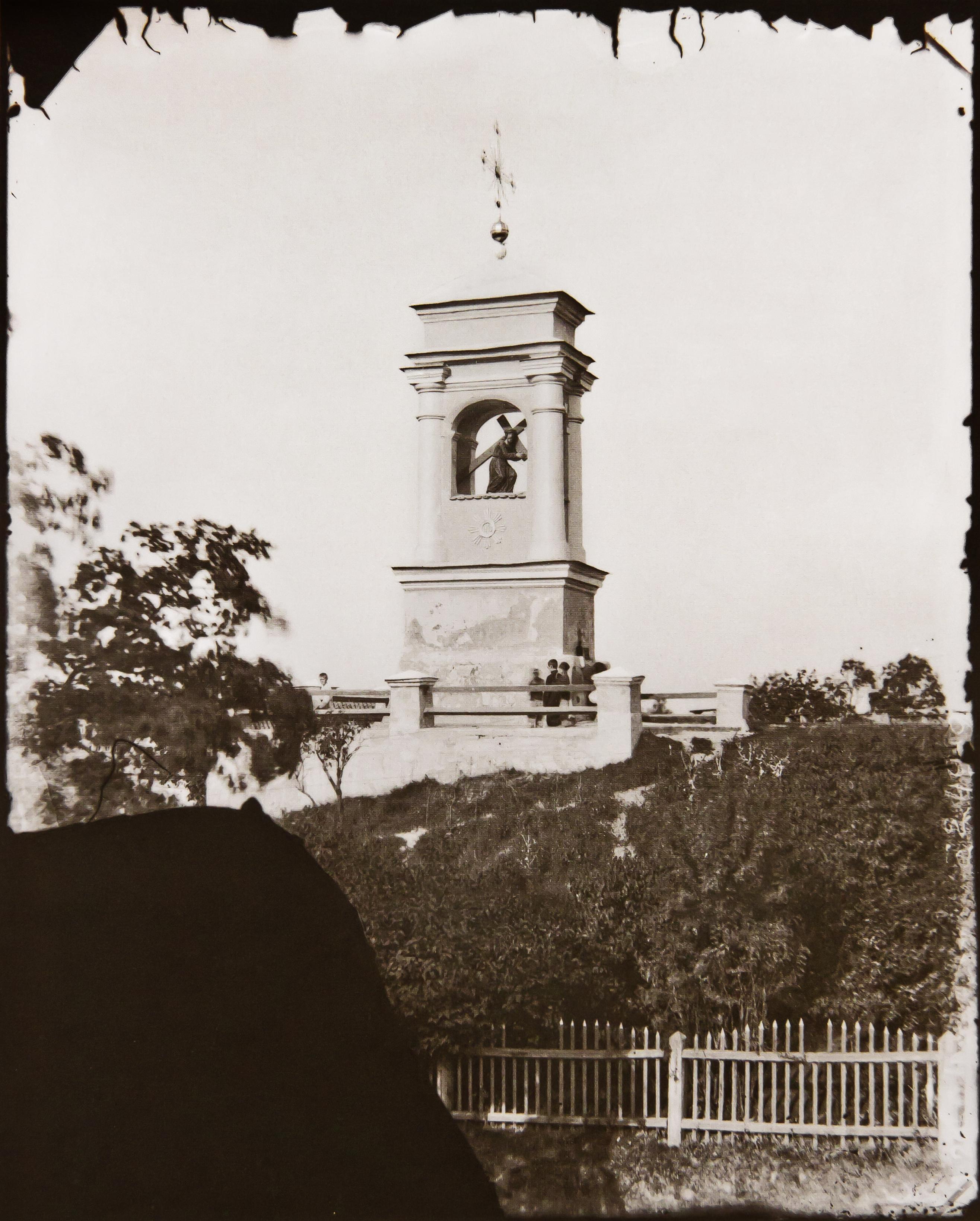 Часовня Спасителя Иисуса Христа в Снипишках возле костёла Святого архангела Рафаила. 1870-е