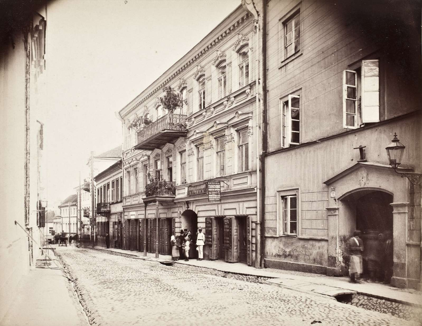 Благовещенская улица. 1875