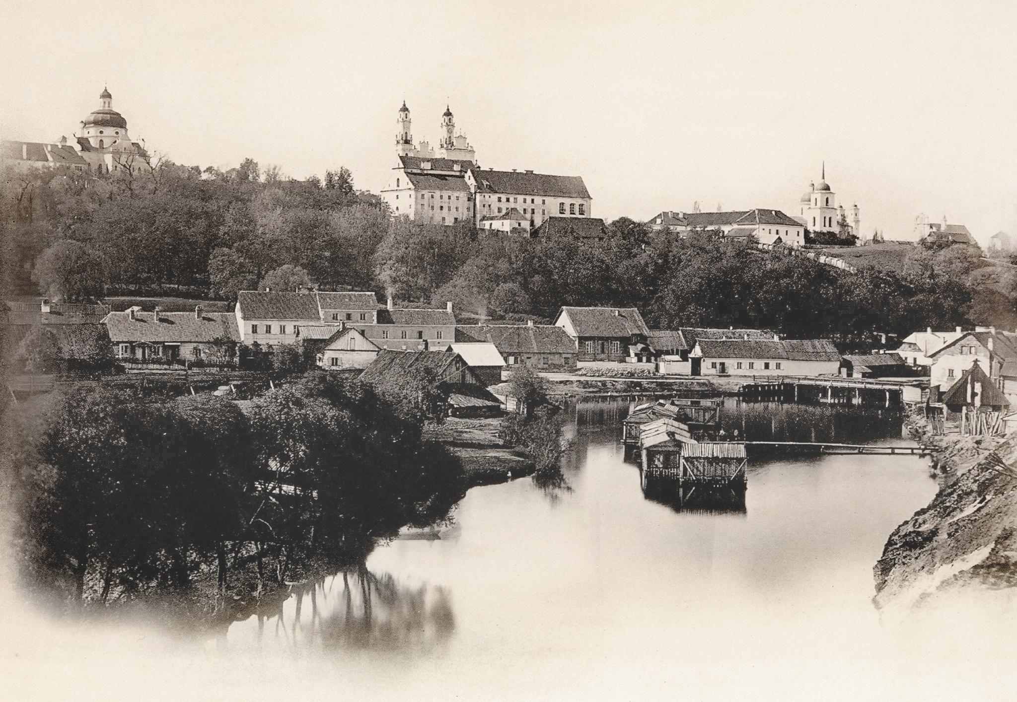 Вид предместья Поплавы. 1861