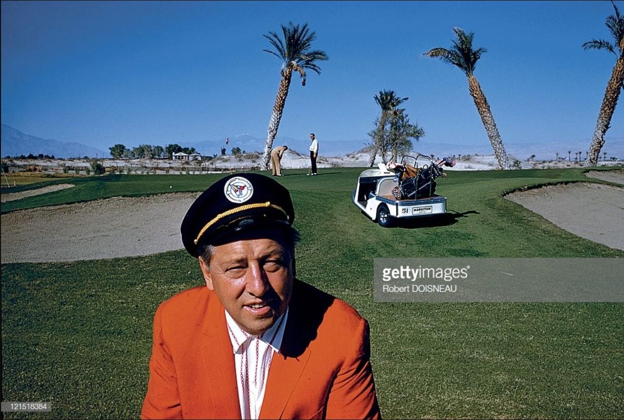 1960. Палм-Спрингс. Игрок в гольф.
